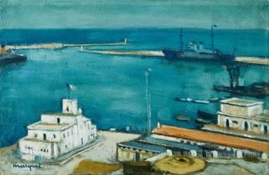 Port of Algiers (Albert Marquet) - Muzeo.com