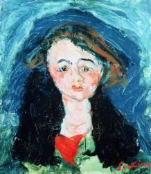 Portrait of a Young Girl (Chaïm Soutine) - Muzeo.com