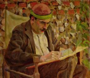 Portrait of John Maynard Keynes (1883-1946) (Roger Fry) - Muzeo.com