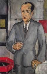 Portrait of Piet Mondrian (Piet Mondrian) - Muzeo.com