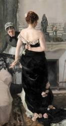 Retour du bal (Alfred Roll) - Muzeo.com