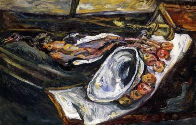 Still life with Pheasant (Chaïm Soutine) - Muzeo.com