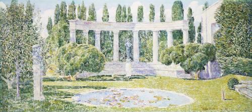 The Bartlett Gardens, Amagansett (Hassam Childe) - Muzeo.com