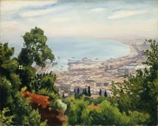 The Bay of Algiers (Albert Marquet) - Muzeo.com