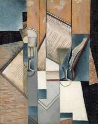 The Book (Juan Gris) - Muzeo.com