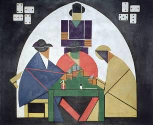 The Card Players (Theo van Doesburg) - Muzeo.com