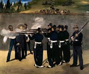 The Execution of the Emperor Maximilian (Manet Edouard) - Muzeo.com