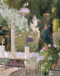 The Gardens at the Sorolla Family House (Sorolla y Bastida Joaquin) - Muzeo.com