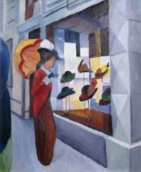 The Milliner's Shop (August Macke) - Muzeo.com