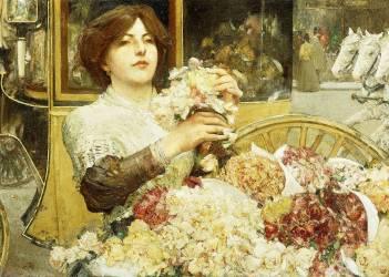The Rose Girl (Hassam Childe) - Muzeo.com