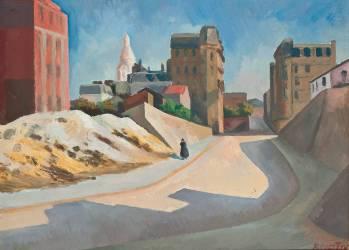 The Sacré-Coeur, Montmartre (Roger Fry) - Muzeo.com