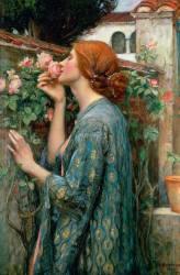 The soul of the rose (John William Waterhouse) - Muzeo.com