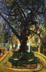 The tree in Vence (Chaïm Soutine) - Muzeo.com