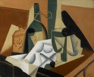 The White Tablecloth (Juan Gris) - Muzeo.com