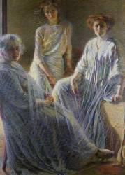 Three Woman (Umberto Boccioni) - Muzeo.com