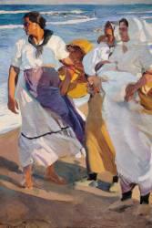 Valencian Fisherwomen (Sorolla y Bastida Joaquin) - Muzeo.com