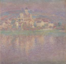 Vétheuil, soleil couchant (Claude Monet) - Muzeo.com