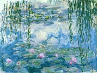 Water lillies (Claude Monet) - Muzeo.com