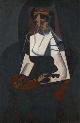 Woman with Mandolin (Juan Gris) - Muzeo.com