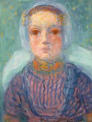Zeeland Little Girl (Piet Mondrian) - Muzeo.com