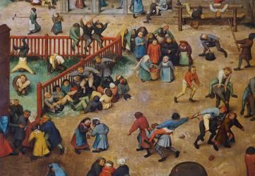 Children's games (Pieter Brueghel) - Muzeo.com