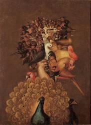 L'Air. (Giuseppe Arcimboldo) - Muzeo.com