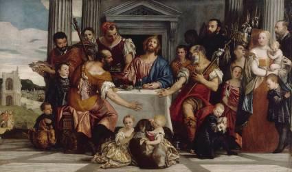 Les Pèlerins d'Emmaüs (Paolo Veronese) - Muzeo.com