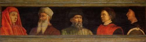 Portraits of Giotto, Uccello, Donatello, Manetti and Brunelleschi (Paolo Uccello) - Muzeo.com