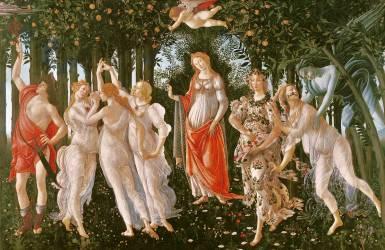 Primavera (Botticelli Sandro) - Muzeo.com