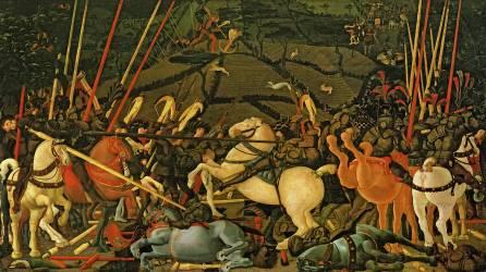 The Battle of San Romano (Uccello Paolo) - Muzeo.com