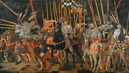 The Battle of San Romano (Paolo Uccello) - Muzeo.com