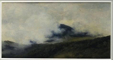 A Rocca di Papa : montagne dans les nuages (Pierre Henri de Valenciennes) - Muzeo.com
