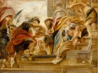 Abraham et Melchisedech (Rubens Pierre Paul) - Muzeo.com