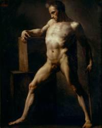 Académie d'homme (Géricault Théodore) - Muzeo.com