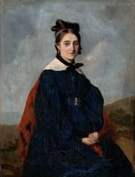 Alexina Legoux, soeur de l'artiste (Corot Jean-Baptiste Camille) - Muzeo.com