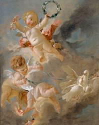 Amours dans les nuages (Boucher François) - Muzeo.com