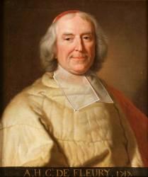 André Hercule, cardinal de Fleury (1653-1743) (Vigée-Le Brun Elisabeth...) - Muzeo.com