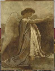Ange agenouillé (Couture Thomas) - Muzeo.com