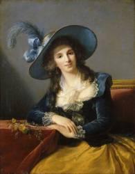 Antoinette-Elisabeth-Marie d'Aguesseau, comtesse de Ségur (1756-1828) (Vigée-Le Brun Elisabeth...) - Muzeo.com