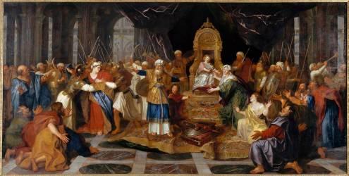 Athalie chassée du Temple (Coypel Antoine) - Muzeo.com