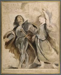 Auguste et la sibylle (Rubens Pierre Paul) - Muzeo.com