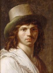 Autoportrait de Girodet (Girodet Anne-Louis) - Muzeo.com