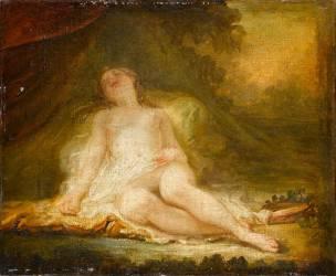 Bacchante endormie (Fragonard Jean-Honoré) - Muzeo.com