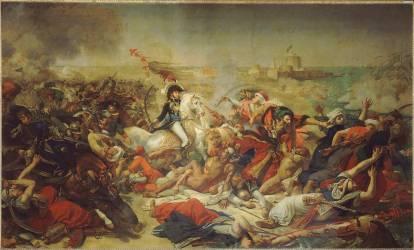 Bataille d'Aboukir, 25 juillet 1799 (Gros Antoine-Jean, Baron) - Muzeo.com