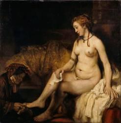 Bethsabée au bain (Van Rijn Rembrandt Harmensz) - Muzeo.com