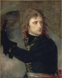 Bonaparte au pont d'Arcole (17 novembre 1796) (Gros Antoine-Jean, Baron) - Muzeo.com