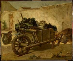 Brouette chargée de légumes (Couture Thomas) - Muzeo.com