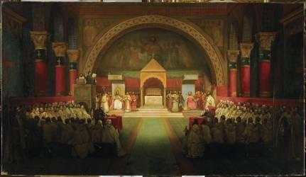 chapitre de l'ordre du Temple (Granet François-Marius) - Muzeo.com
