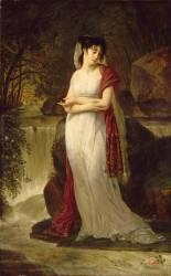 Christine Boyer, première femme de Lucien Bonaparte (Gros Antoine-Jean, Baron) - Muzeo.com