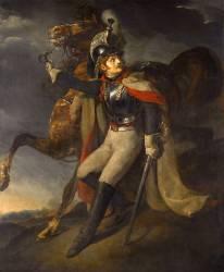 Cuirassier blessé quittant le feu (Géricault Théodore) - Muzeo.com